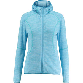 Meru Megara Stretch Fleece Hoodie Damen ethereal blue